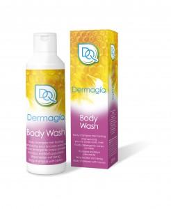 3D DQ Fles+Doosje Bodywash_white